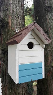 Domek dla ptaków w trzech krokach