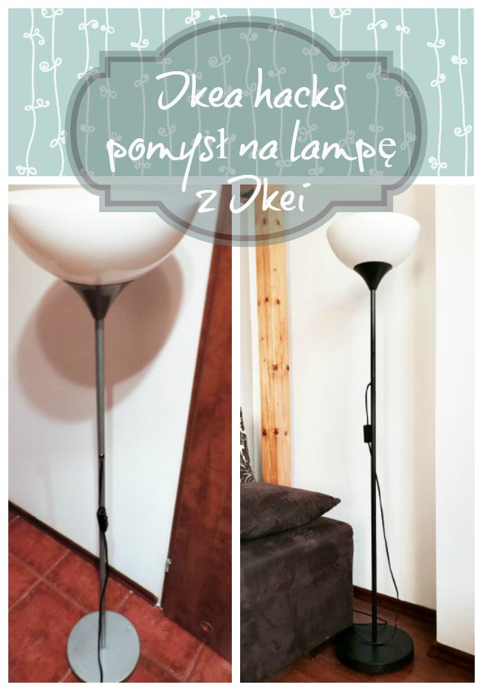 Ikea idea – pomysł na starą niemodną lampę